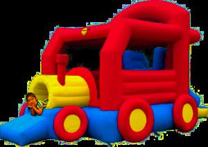 Vonatos ugrálóvár
