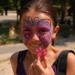 Kézműves gyűrű és arcfestés