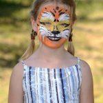 Tigris a kislányra mintázva